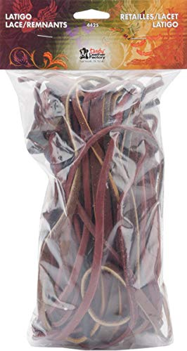 Tandy Leather Factory Latigo Lace Remnant Pack .5lb-Assorted