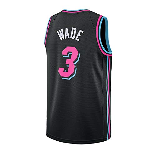 Ddesh Youth Wade Jerseys 3 Kid's City Black (Black, Youth Small 8)