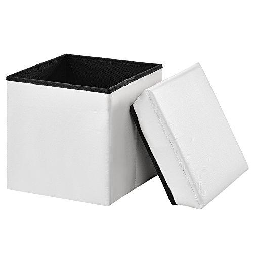 [en.casa] Taburete Almacenamiento Plegable 30 x 30