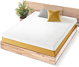 Mellow 10 Inch LAGOM Hybrid Mattress Full - Bamboo Charcoal Memory Foam and Pocket Springs, CertiPUR-US Certified Non Toxic Foams, Oeko-TEX Certified Eco Cover, Copper Infused Comfort Foam