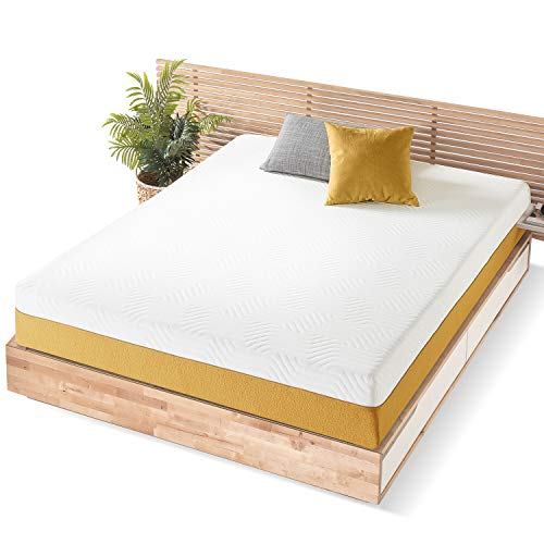 Mellow RV Bed Mattress, Memory Foam, Sunrise Yellow, Twin