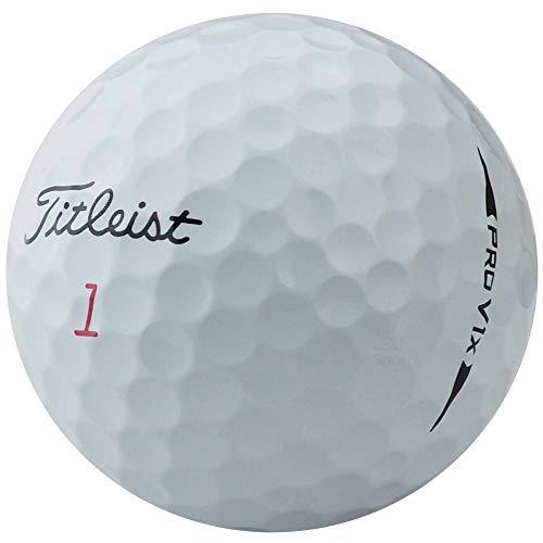 lbc-sports Titleist Pro V1x golfballen - AAAA - Model 2018 - Wit - Lakeballs - gebruikte golfballen