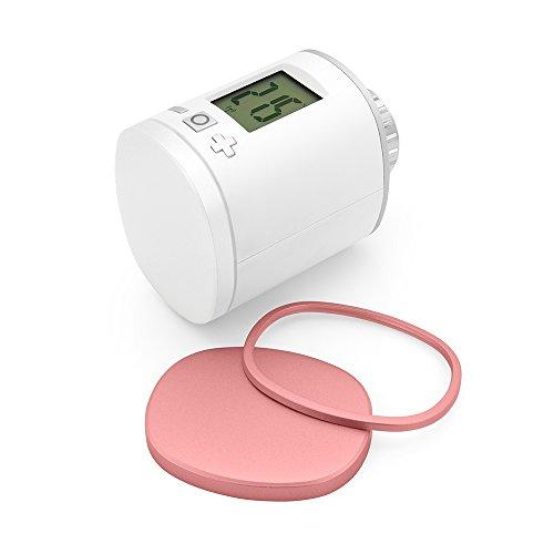 Eurotronic 701023 Colorspot Light-Pink Plus Designblende / 3er Set Farbblenden für Energiesparregler/Heizthermostat Z-Wave-Color Spot – individuelles Design, (L x B x H) 55 x 65 x 5 mm, 3 Stück