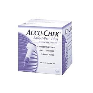 buy Accu Chek Safe-T Pro+ Blood Lancets, 200 Count Diabetes Care