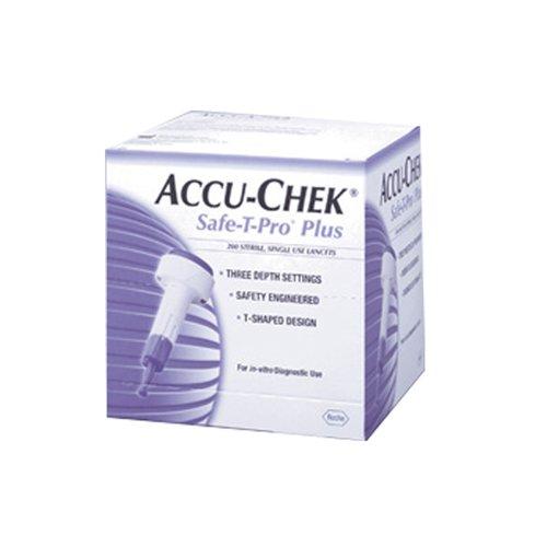 Accu Chek Safe-T Pro+ Blood Lancets, 200 Count