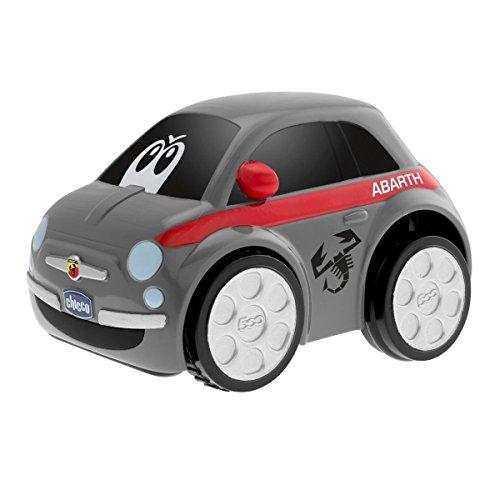 Chicco Fiat 500Abarth Macchina Elettronica Racer, Grigio, 00007331000000