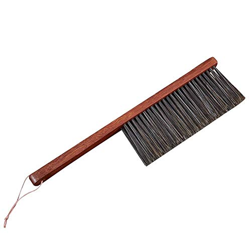 NJIUHB Broom, Huishoudelijke Broom veegmachine Soft Anti-Static Wear Resistant Multi-Function Cleaning Handgemaakt Low Carbon, 14,6 * 3.1in