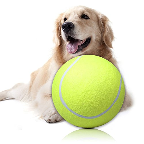 Riesen Tennisball 24 CM Pet TOY Unterschrift MEGA JUMBO Big Tennisball