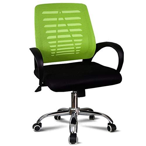 KangJZ Mobiliario de oficina Sillas Sillas de la computadora de malla, sillas ergonómicas Volver giratoria tarea for la sala de estar Dormitorio Oficina Sala de reuniones Sillas de oficina Sillas y ta