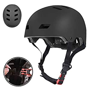 Adult Cycling helmet UniqueFit Kids&Adult Helmet Adjustable Protective Helmet for Scooter Cycling Roller Skate,CPSC&ASTM Certified Helmet [tag]