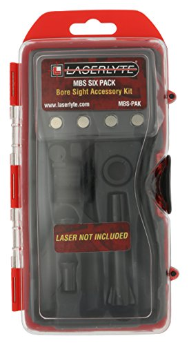 LaserLyte Laser Bore Sight Accessory Kit with Level, Caliber Tools and Case for Rifles, Pistols and Shotguns