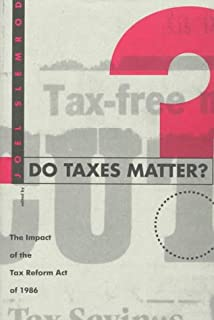 Do Taxes Matter?: The Impact of the Tax Reform Act of 1986
