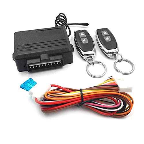 Peanutaso Sistema Universal de Entrada sin Llave Sistemas de Alarma para automóviles Dispositivo Kit de Control Remoto automático Cerradura de Puerta Bloqueo y desbloqueo Central del vehículo