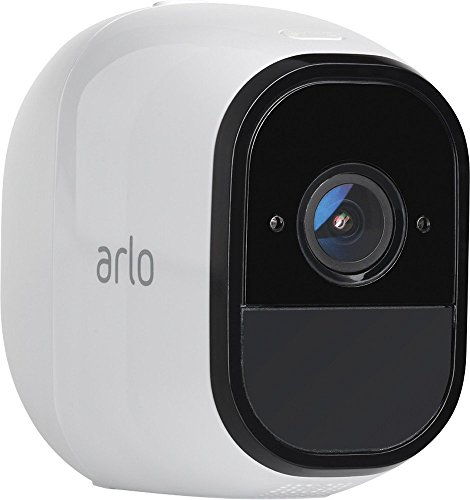Arlo Pro VMS4430 Indoor/Outdoor HD Wire-Free Security System with 4 Cameras (White) (VMS4430-100NAR) (Renewed) New Hampshire