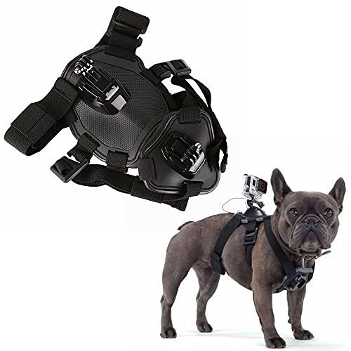 Dog Vest Harness Chest Strap for GoPro Hero 9 8 7 6 Xiaomi Yi 4K Dog Belt Mount for GoPro Accessory