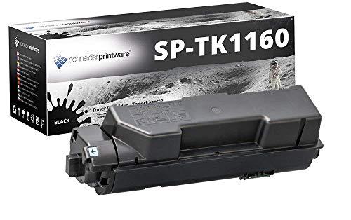 Schneider Printware Toner | 100% höhere Reichweite | kompatibel zu Kyocera TK-1160 für Kyocera ECOSYS P2040dn Kyocera ECOSYS P2040dw | Schwarz 14.000 Seiten