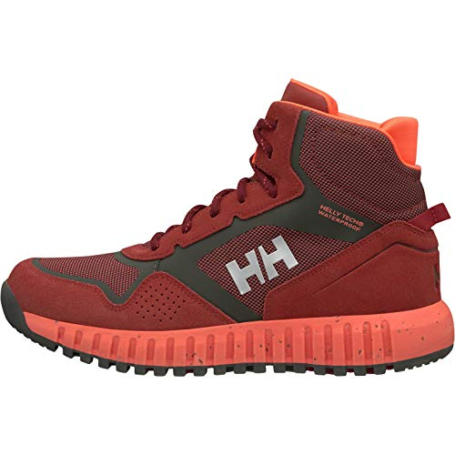 Helly Hansen Damen W Monashee Ullr Ht Trekking- & Wanderstiefel, Rot (Red Brick/Beluga/Bright 199), 39.5 EU