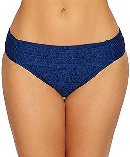 Bleu Rod Beattie Chic Peek Side Tab Hipster Swim Bottom (P19525) 8/Navy [並行輸入品]