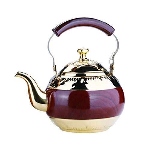 Hamaio Pfeifender Teekessel 2L - Induktion Pfeifkessel Aus Edelstahl - Vintage Retro Flötenkessel Wasserkessel Pfeifkessel Wasserkocher Teekocher