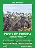 La Cordillera Cantábrica con esquis y raquetas de nieve...