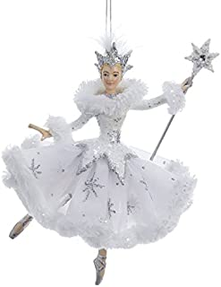 Kurt Adler Snow Queen Ballerina Ornament