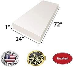 Best 1 inch high density foam Reviews