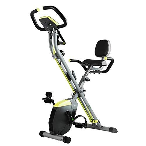 qazxsw Adult bicicleta interior plegable bicicleta bicicleta bicicleta bicicleta pedal, máquina de extracción de tubo de estufa ejercicio magnético bicicleta pérdida de peso