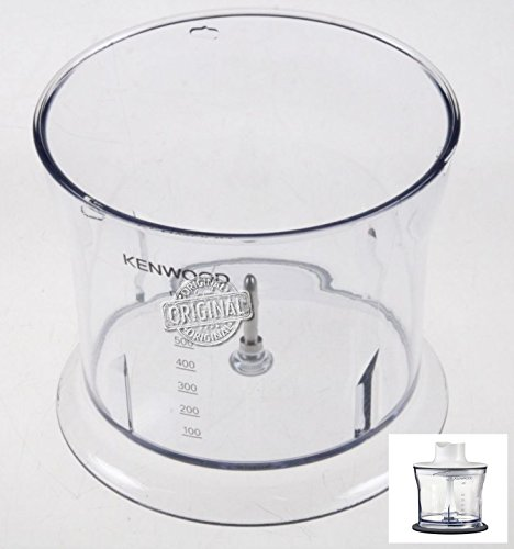 Kenwood Triblade HDP404 - Tazza, Contenitore, Recipiente (Graduato 500 ml) Originale per Tritatutto