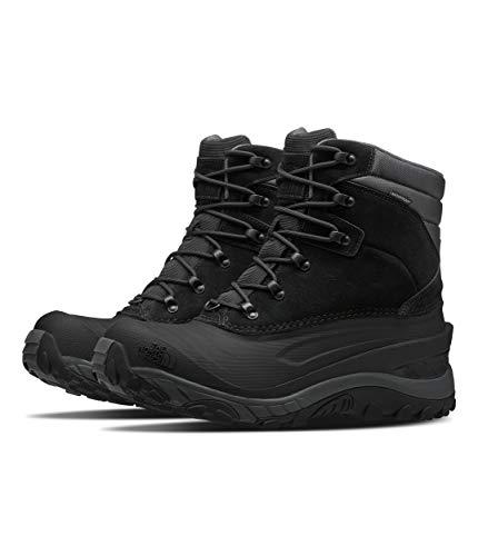 The North Face Men's Chilkat IV, TNF Black/Dark Shadow Grey, 10.5