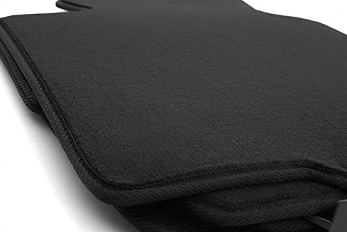 kh Teile Fußmatten E90 E91 M3 Velours Automatten Original Qualität Passgenau 4-teilig schwarz