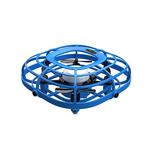 Mini Drones Ovni Para Niños, Drones LED Para Niños De 8 A 12 Años, Juguetes Voladores, Cuadricóptero Controlado A Mano Para Niños De 4 A 6 Años, Combo De Ventilador De Avión, Giro De 360 grados, Reg