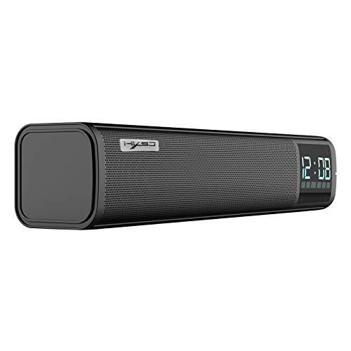 Shiwaki Q2 Portable Home Bluetooth 5.0 Altavoz Largo Estéreo 3D Surround TF USB AUX FM