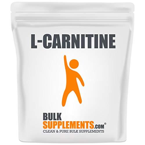 BulkSupplements.com L-Carnitine Powder - Fat Burner for Men - Fat Burners for Women - Amino Acids Supplement - Safe Pre Workout (250 Grams - 8.8 oz)
