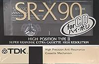TDK カセットテープ SR-X90 ハイポジション/TYPEⅡ 90分