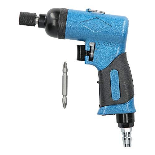 Destornillador de impacto neumático, herramienta neumática, destornillador neumático Empuñadura de aire Aleación de acero Forma de pistola Mango antideslizante para tornillos de instalación