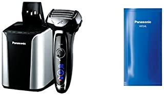 Panasonic Arc5 Electric Razor ES-LV95-S with Automatic Cleaning Solution Included