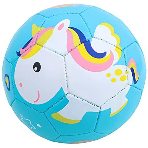 Toyshine Edu-Sports Kids Football Soccer Educational Toy Ball Size 3, 4-8 Year Kids Toy Gift Sports - Unicorn