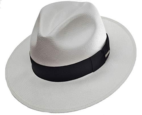 TERRAPIN Cappello Panama Autentico rotolamento ecuadoriano di Homero Ortega M-3XL Fedora toquilla Straw