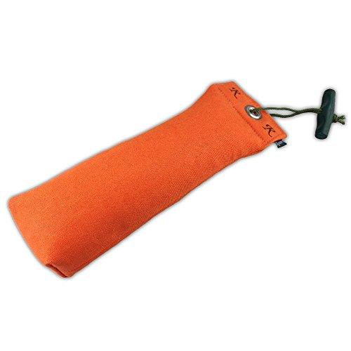 Romney's ROMNEYS Standard-Dummy 500g Hundeapportel - Extrem robust und schwimmfähig (Orange)
