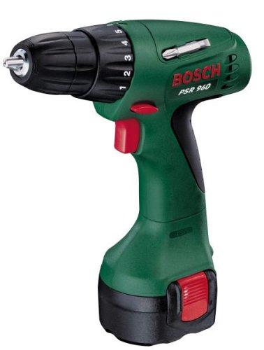 Bosch Home and Garden 0.603.944.603 Atornillador a batería, 9.6 W, 9.6 V, Verde