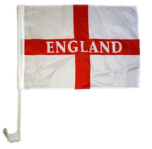 2 X England Voiture Drapeaux