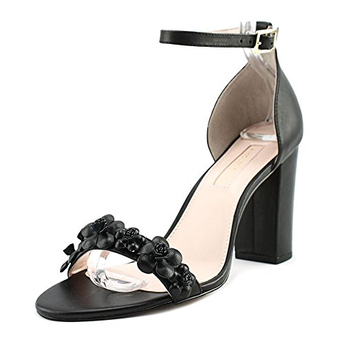 Avec Les Filles by Joyce Azria Michele Block Heel City Sandal (Black) Size 9