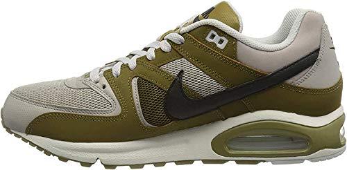 Nike Herren Air Max Command Leichtathletikschuhe, Mehrfarbig (Moon Particle/Black/Olive Flak/Vast Grey 201), 41 EU