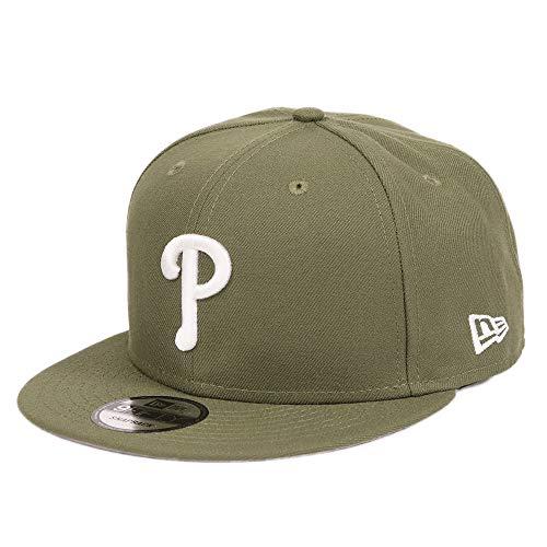 ニューエラ キャップ スナップバック 9FIFTY NewEra フィリーズ MLB メンズ?メジャーリーグ 帽子 オリーブ カーキ [並行輸入品]