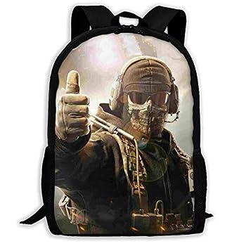 Child Schoolbag Call Ghosts Duty School Backpacks For Kids School Bag Water Resistant Adult Dayback