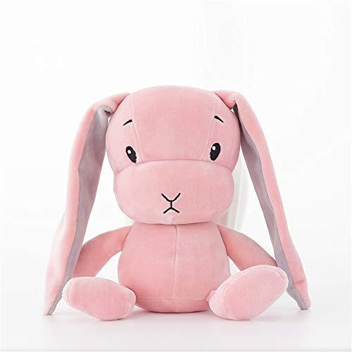 YGMDSL Weiches Spielzeug Spielzeug Das Kaninchen Süß Puppe Mit Schlafen Geschenk,Pink,L