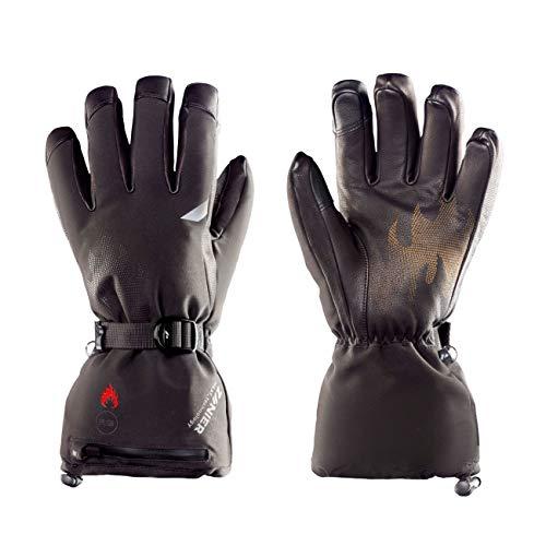 Zanier Heat.STX Beheizbare Handschuhe 9 schwarz