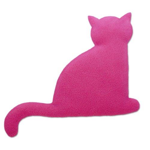 Leschi | Cuscino riscaldabile (per la pancia) | 36527 | La gatta Minina | seduta | grande | Colore: Porpora/Mezzanotte