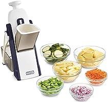 Save on DASH Safe Slice Mandoline Slicer, Julienne + Dicer for Vegetables, Meal Prep & More with 30+ Presets & Thickness...