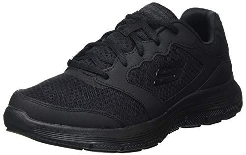 Skechers Flex Advantage 4.0, Zapatillas para Caminar Hombre, BBK, 46 EU